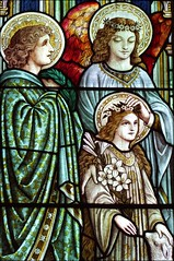 The crowning of St Agnes