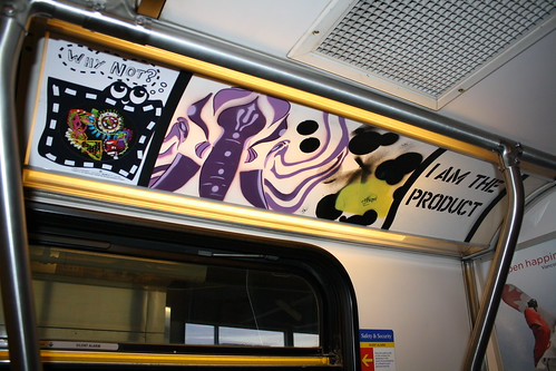 V-TARP The Vancouver Transit Adspace Re-appropriation Project - Installation 21 - Jacquee Lynn Davis, Rize-Up, jerm IX