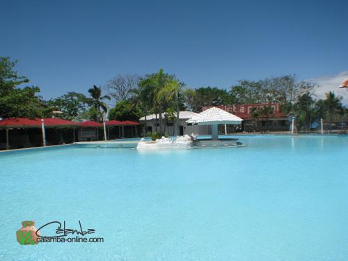Spring in La Vista Pansol Resort Laguna