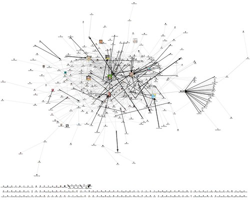2010 - April - 15 - NodeXL - Twitter - chirp with edge weights