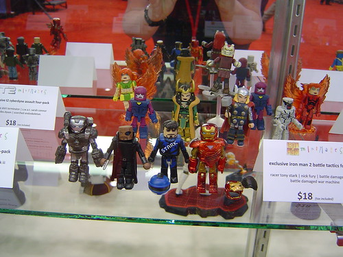 Iron Man Miniature Figurines