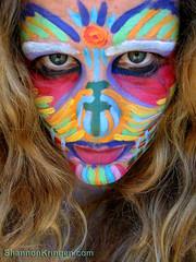 PriMaL Goddess KRING (shannonkringen) Tags: goddess bodypaint facepaint viking primal synchronicity shannonkringen goddesskring godus