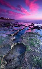 holes to heaven (-spacegoat-) Tags: sunset cloud seascape beach rocks filter perth northbeach wa westernaustralia gnd