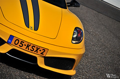 Ferrari 430 Scuderia (Bart Willemstein) Tags: auto detail macro cars car yellow closeup club italian nikon track nederland automotive ferrari nikkor circuit scuderia zandvoort f430 430 trackday fcn bartw circuitpark d300s autogespot autogespotcom bartwillemsteinnl