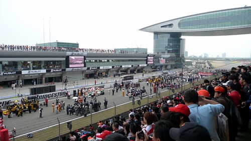 Starting Grid F1 Shanghai