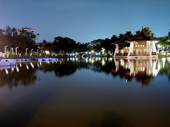 Panasonic GF1 台中公園夜拍 - Night shot for Taichung Park (prince470701) Tags: nightshot taiwan 夜拍 台中公園 taichungpark 20mmf17 panasonicgf1