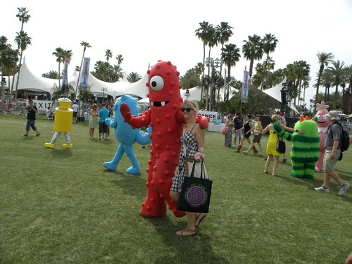 Yo Gabba Gabba at Coachella