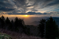 Blue Ridge Sunrise (John Cothron) Tags: travel sky usa cloud mountain nature digital forest sunrise landscape dawn morninglight us nc spring twilight outdoor unitedstatesofamerica scenic northcarolina valley environment thesouth dixie canton blueridgeparkway ze stormyweather protected mountaintop pisgahnationalforest carolinas nantahalanationalforest cullowhee americansouth shiningrock richlandbalsam middleprongwilderness southernregion haywoodcounty 35mmformat 5dc sugarcove blueridgesunrise johncothron distagont2821 southatlanticstates leefiltersystem 5dclassic cothronphotography zeissdistagont21mm28ze 2jtrip2010 birdstandmountain pisgahgameland johncothron img2846100417
