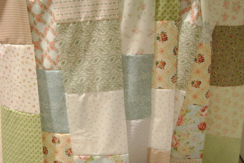 Quilt top strips