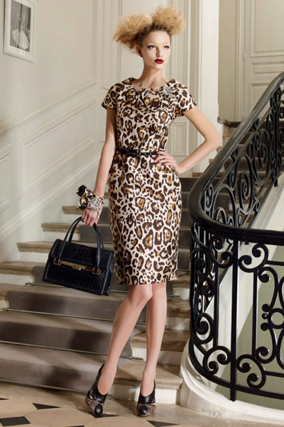 Christian-Dior-Leopard-Dress