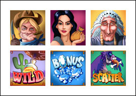 free Diamond Valley Pro slot game symbols