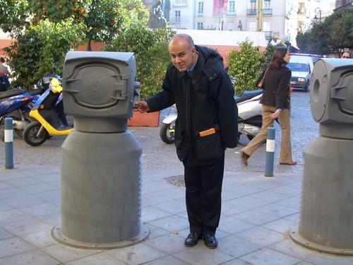 Edoardo Croci a Siviglia: il sistema di raccolta pneumatica di rifiuti, dicembre 2008