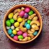 amendoin (pfigueiredo) Tags: macro cores colours comida doce lanche colorido mistura amendoin confeites mcobj