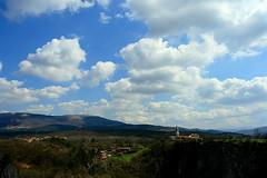 cloudscape | kocjan (arnabchat) Tags: sky church clouds landscape europe village view caves slovenia cave karst cloudscape grotta jama 1740f4l hohle karso kocjan kocjancaves kocjanskejame coastandkarst