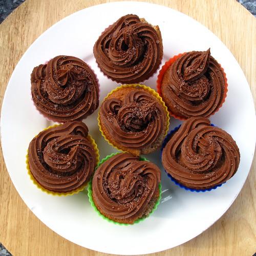 Banana & Chocolate Cupcakes I