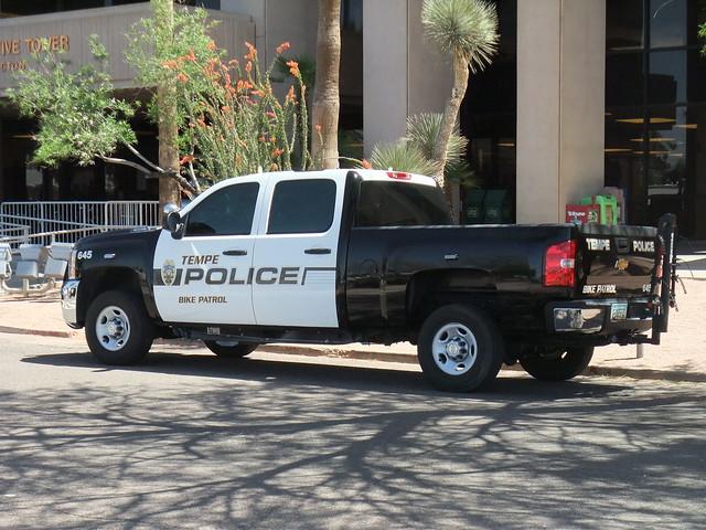 chevrolet truck police chevy silverado tempe