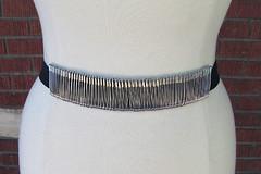safety pin belt diy 2