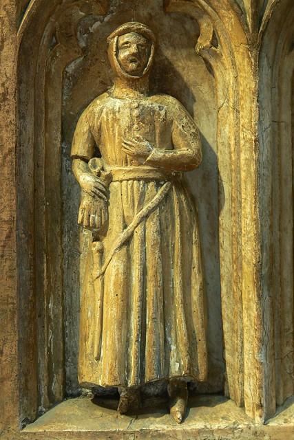 Mourner - Thomas de Beauchamp tomb