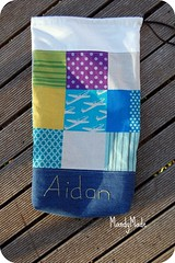 Little A's School Library bag
