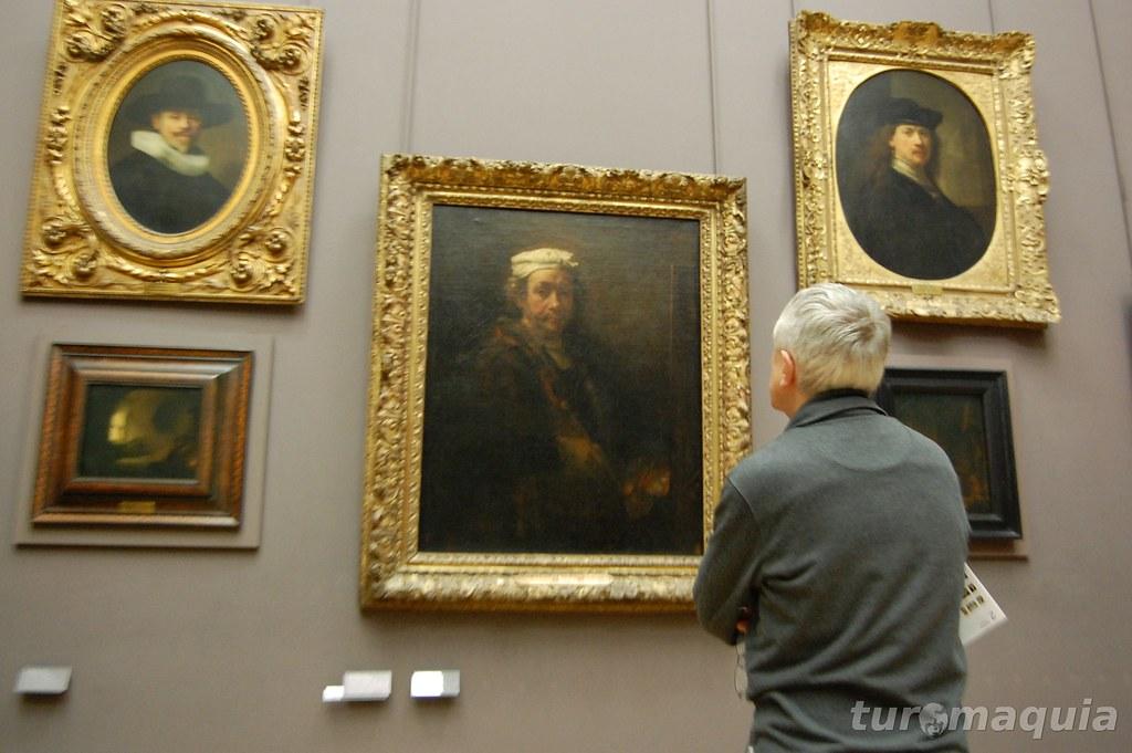 Rembrandt no Louvre