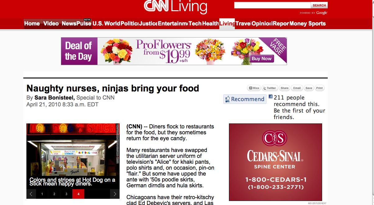 Hot Dog On A Stick Pic on CNN.COM