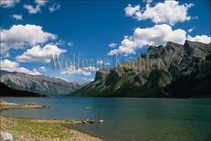 00038552 (wolfgangkaehler) Tags: mountain lake canada mountains landscape nationalpark scenic unescoworldheritagesite unesco worldheritagesite northamerica banff rockymountains albertacanada banffnationalpark lakeminnewanka canadianrockies northamerican unescosite