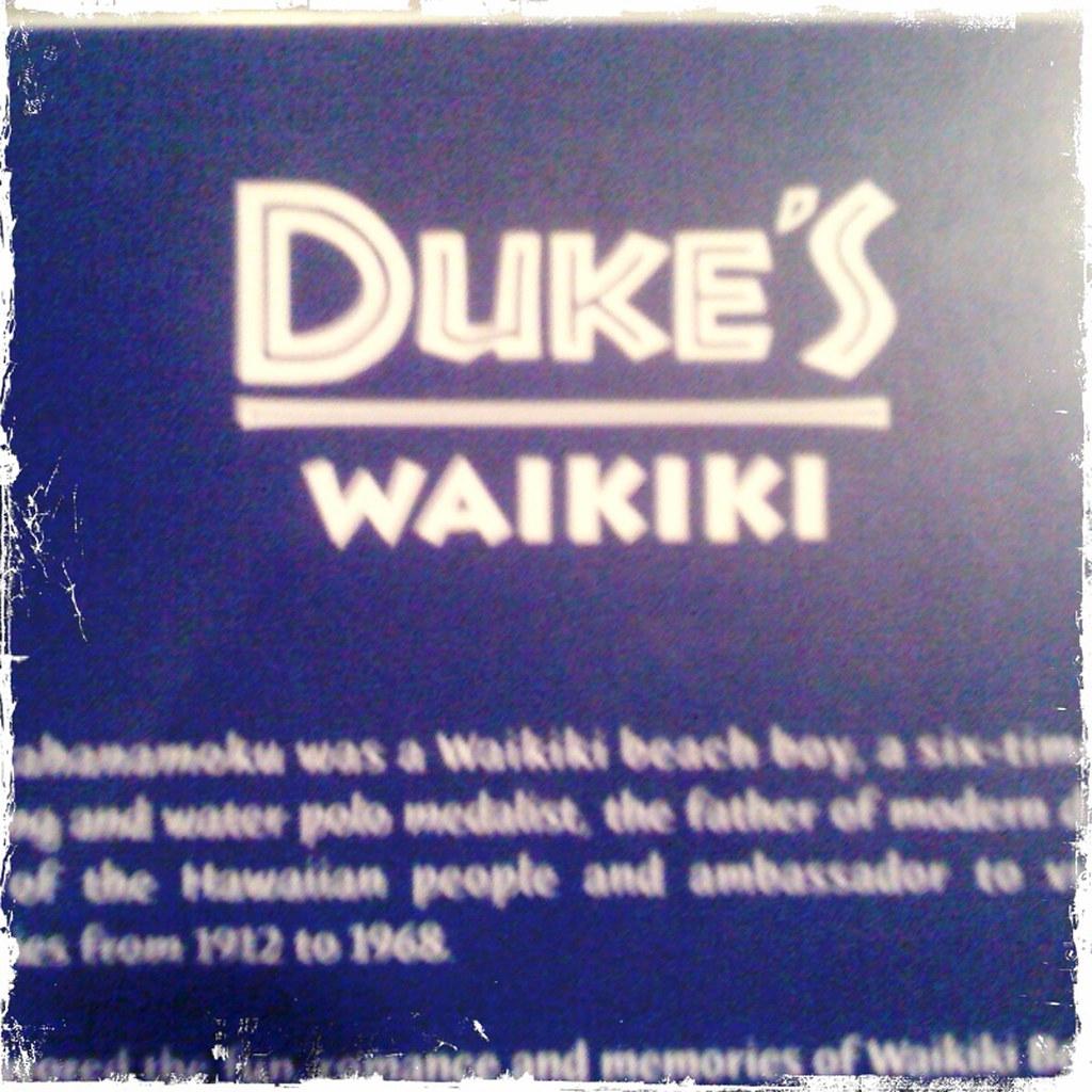 dukes menu