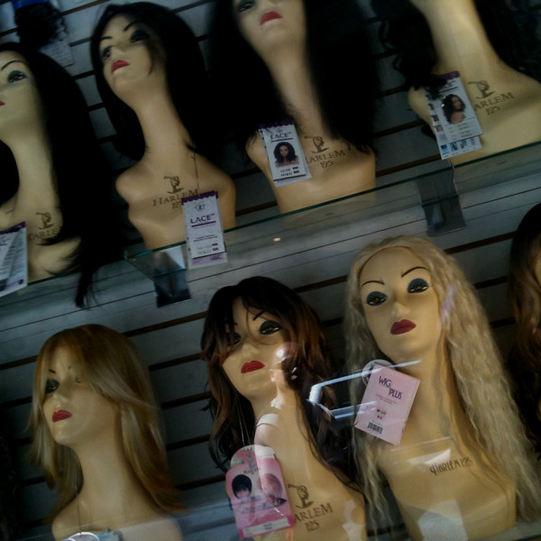 wig people #walkingtoworktoday