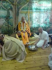 Indradyumna Swami Vyasa puja in UK 2010 -0002