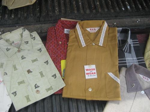 Pile o' shirts