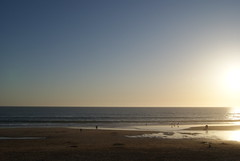 dia 25 de Abril (yoursecretgirl ) Tags: sunset sea praia beach portugal sand prdosol da fonte myphotos 2010 telha
