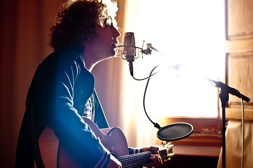 Liam Gerner, singer songwriter, Sonic Vista Studios