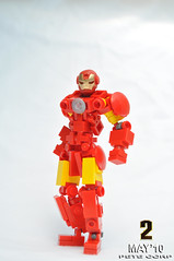 Iron Man Mark IV (Pete Corp) Tags: robot lego ironman guns gundam mecha petecorp peteframe amazingarmory