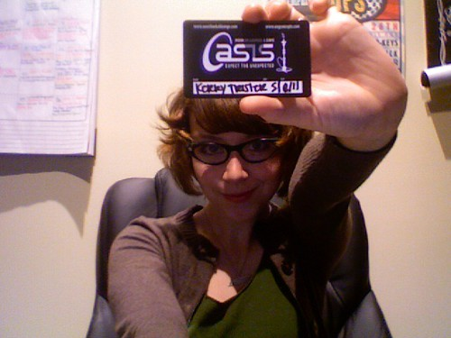 Oasis Membership Card - Kerry Crawford Trisler