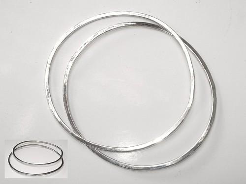 Flat bangles
