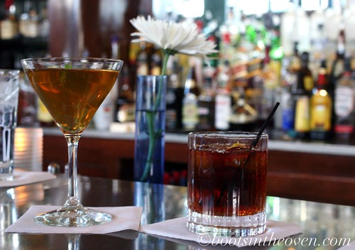 Delightful Bar Treats: Summer Julip and Vieux Carre