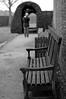 (Framed) or Framing[] (Bean*) Tags: bw garden bench hall path framed hedge framing morton englandfall2009