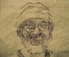 JKPP: David (giveawayboy) Tags: portrait man david art pen beard artist drawing retrato portrt ritratto portree mynd  portrett portrtt potr