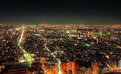 Nights in Tokyo (RyanMussbacher) Tags: city urban japan skyline night japanese tokyo shinjuku asia neon cityscape panasonic handheld parkhyatt hdr cityskyline 2010 cityview newyorkbar gf1 tokyoskyline 5xp handheldhdr japanhdr 2to2 tokyoparkhyatt tokyohdr panasonicgf1 lumixdmcgf1 newyokbar