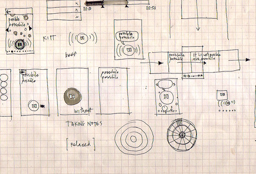 Michel Thomas iPhone app - early sketching