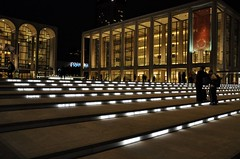 Lincoln Center Night Lights (Trish Mayo) Tags: newyork night lights manhattan steps gothamist lincolncenter thebestofday gnneniyisi