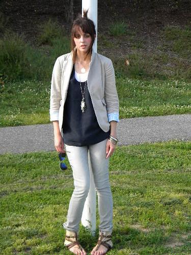 Gray Jeans 25