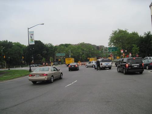 The Cops Close The Roads
