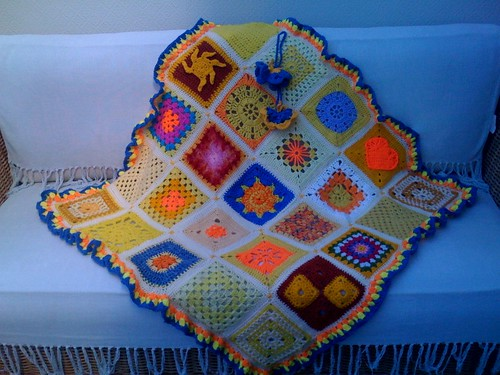 SIBOL No. 11 'Sun theme Blanket' No.3.