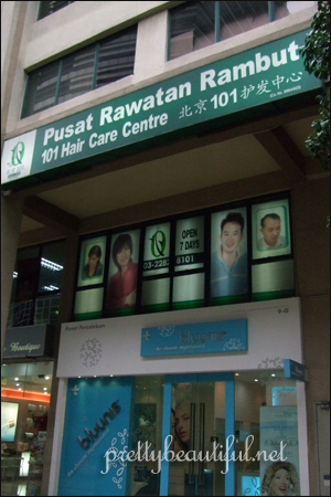101 Hair Care Centre Mid Valley