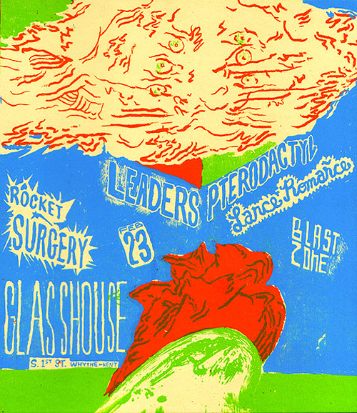 Glasshouse show flyer