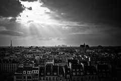 Paris I Love You (tristanlb) Tags: windows light paris love rooftop beautiful skyline canon dark landscape amazing intense cityscape superb eiffeltower dramatic poetic romantic frances incredible ladfense centregeorgespompidou chatelet masterpieces contrasted 5dmarkii francesmasterpieces tristanlb