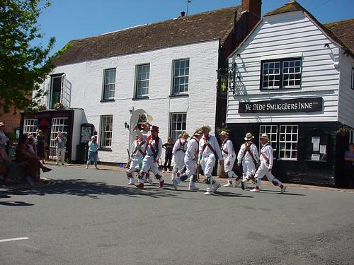 SDW Day 2: Alfriston, Morris dancers