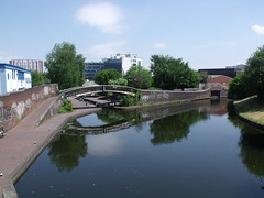 Birmingham & Fazeley Canal near Mill Wharf on ...