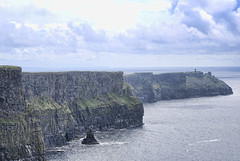 The Cliffs of Moher (6). Ireland.- (ancama_99(toni)) Tags: pictures trip travel blue ireland light vacation sky irish paisajes naturaleza mer seascape color nature water clouds marina landscape geotagged photography landscapes photo nikon meer europa europe clare foto photos picture paisaje photographic eire cliffs fotos fotografia cliffsofmoher nikkor paysage moher irlanda paisagens 2010  marinas countyclare fotografas ocan d60 acantilados  ozean   acantiladosdemoher 10favs 10faves nikond60     mywinners  holidaysvacanzeurlaub  ancama99 saariysqualitypictures